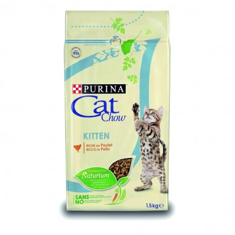 CAT CHOW KITTEN Kurczak